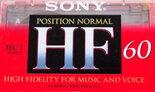 Sony-HF-60-Normal-Tape-Cassette-Cassettebandje