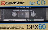 Goldstar-CRX60-Crome-Tape-Cassette-Cassettebandje