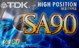 TDK-SA90-Crome-Tape-Cassette-Cassettebandje
