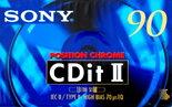 Sony-CDit-II-90-Chroom-Tape