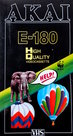 Akai-HQ-180min-Home-VHS-Nieuw!!