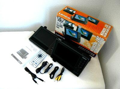 Lenco LCD DVD  Speler in de auto met Garantie