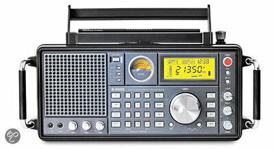 Tecsun S-2000 HF / SW (SSB), MW, LW, FM en Aircraft Band (AM)