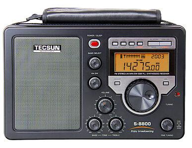 Tecsun S-8800 HF / SW (SSB), MW, LW, FM met Li-ion Accu en Afstandsbediening