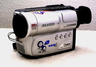 Samsung VP-W80 HI8 & Video 8 Videocamera met Garantie!!