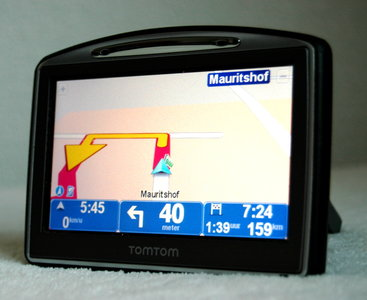 TomTom GO 720 XL Display Europa (23 landen) met Update 2018.