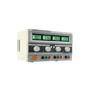 McPower Digi 302-05 laboratoriumvoeding Regelbaar 2x 0-30 volt & 0-5 Amp 1x 5 volt & 3 Amp