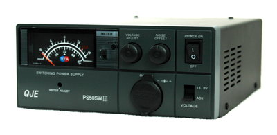 QJE PS-50 SWIII Voeding 9-15 volt 50A-52A Max & Noise Offset.