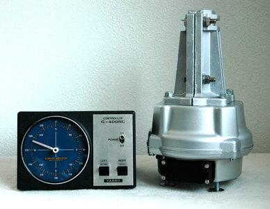 Zware Yaesu G-400RC Rotor met Rotorklok met 3 Maand Garantie.