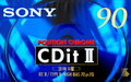 Sony CDit II 90 Chroom Tape